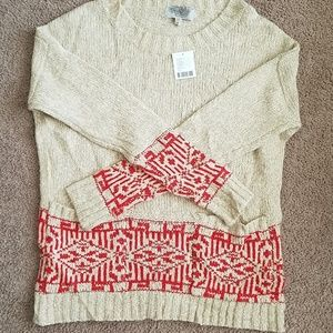 Nwt UO Ecote Sweater W/ Pockets Small